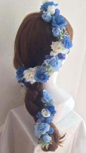 花かんむり髪型プリンセス