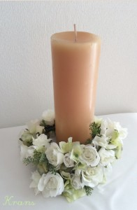 白花冠キャンドル