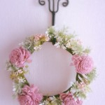 花かんむりピンクリース