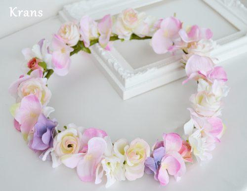 シュガーピンク・ミニバラの花冠