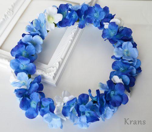あじさいブルーの花冠