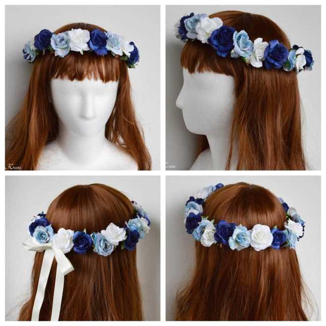 サムシングブルー花冠