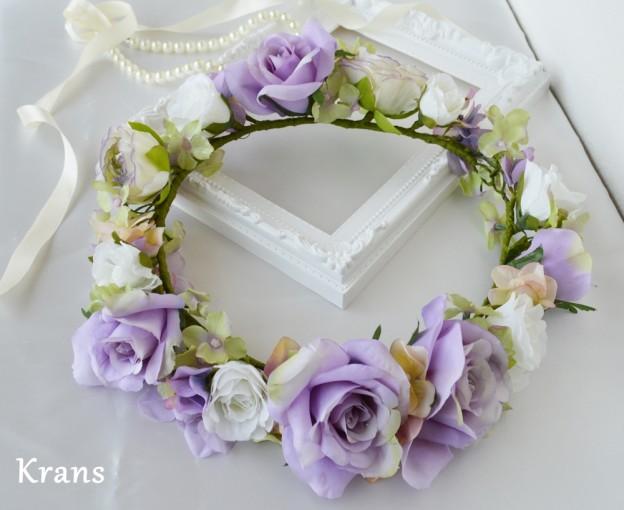 アンティークローズ花冠イメージ