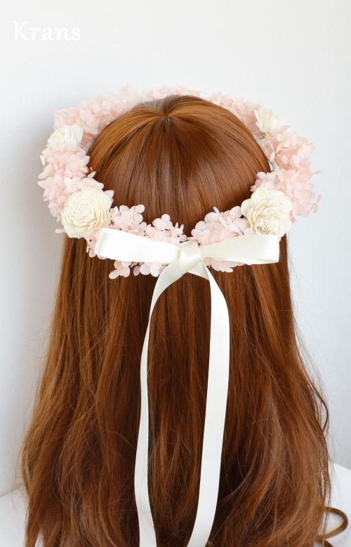 結婚式におすすめプリザ天使の花冠
