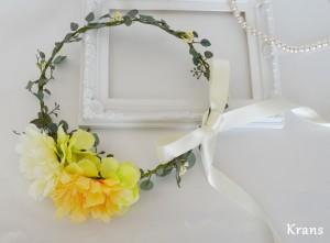 ナチュラルシンプルな花冠1