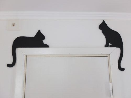 """ハンドメイド""""猫の壁飾り"""""""