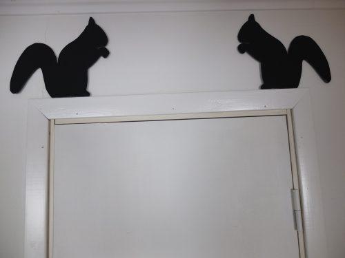 """ハンドメイド""""りすの壁飾り"""""""