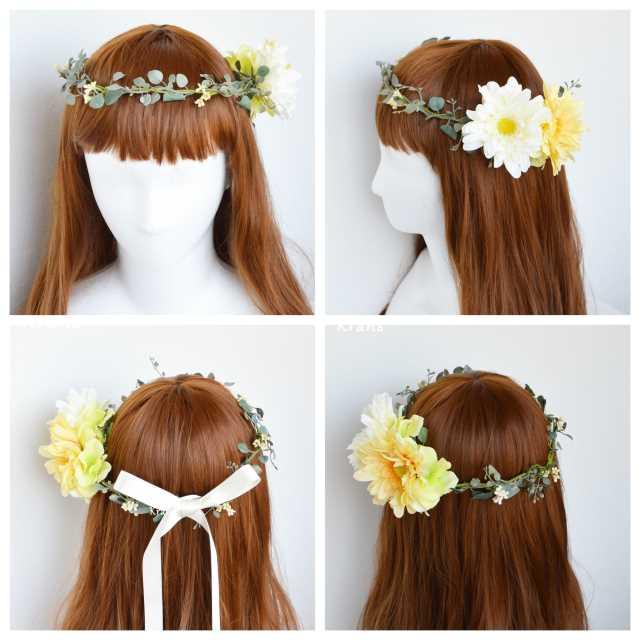 花ワンポイント花冠