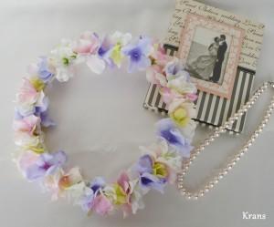 フェアリーカラーのパステル花冠1