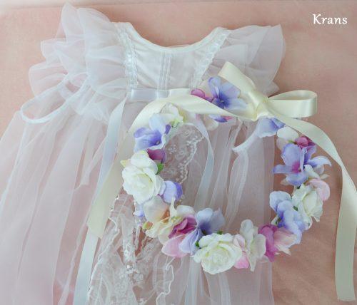 【オーダー花冠】赤ちゃんのお祝いに花冠