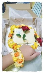 美女と野獣黄色い花冠2