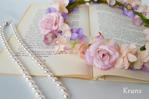 シュガーローズピンク【花かんむり】