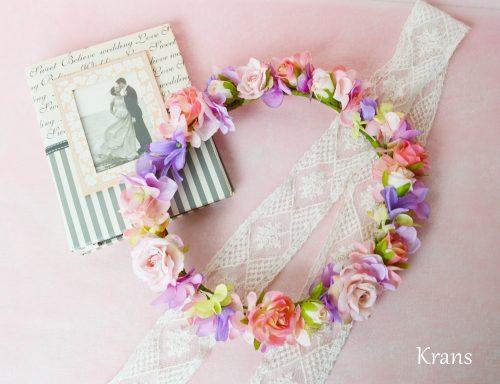 【オーダー花冠】Y様 彩りの華やかな花冠