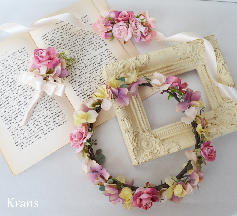 結婚式 オーダー 花冠