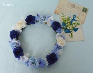 クラシックブルーの花冠