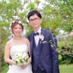 ナチュラル花冠結婚式