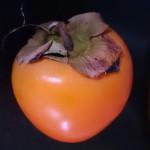 スウェーデンで柿!