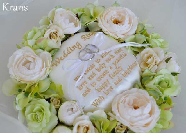 おすすめリングピロー結婚祝い
