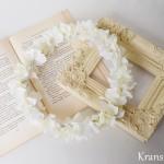エンジェルホワイトの結婚式花冠