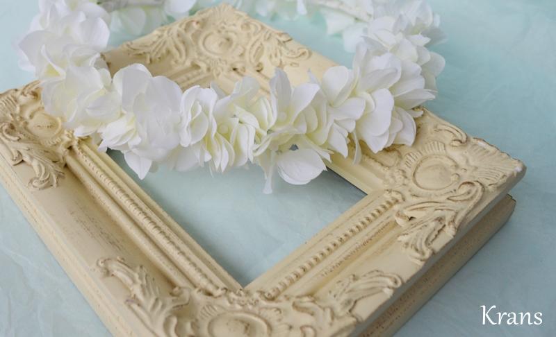 エンジェルホワイトのウェディング花冠