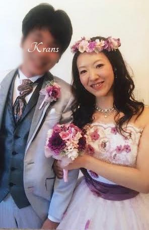 結婚式花冠