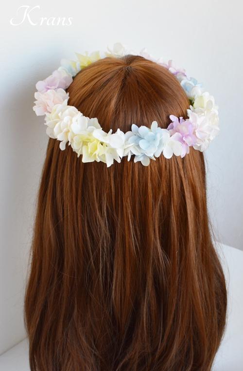 HANYドレスに似合う花かんむり