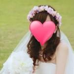 【幸せのバトン:Photo gallery】 I様(ピンクウェディング花冠)