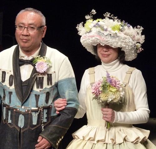 東京コレクション、ブーケ、花冠