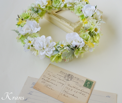 幼稚園卒園記念品、卒業記念品、フラワーリース、卒園記念