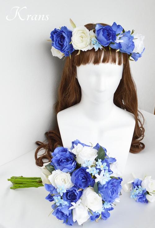 青い花冠ブルーローズ