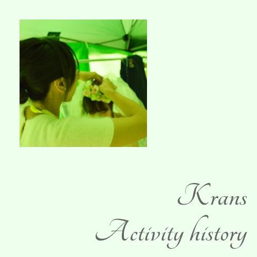 Krans-Activity history(活動歴)