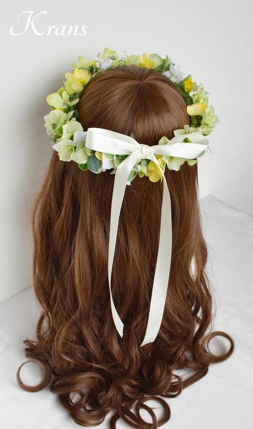 花冠ナチュラルグリーン結婚式用7