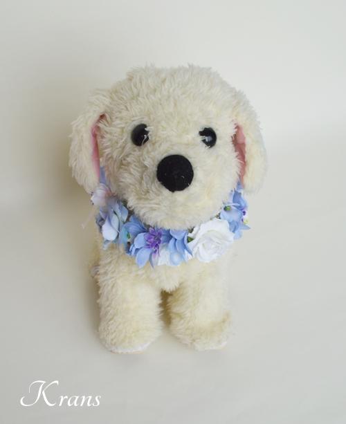 犬用の花冠リングドッグ2