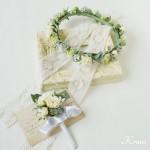 結婚式花冠大人可愛いナチュラル