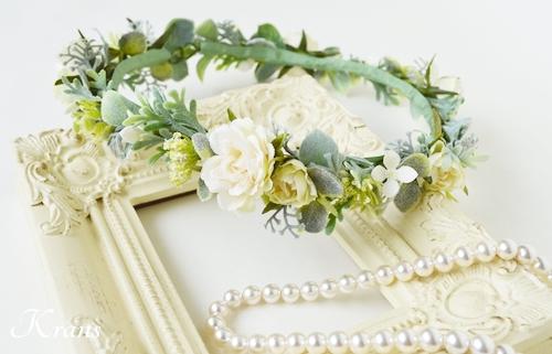 結婚式花冠大人可愛いナチュラル2