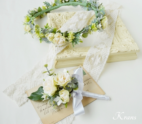 結婚式花冠大人可愛いナチュラル5