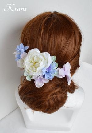 子供用髪飾りヘアアレンジ
