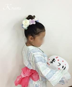 髪飾り子ども浴衣