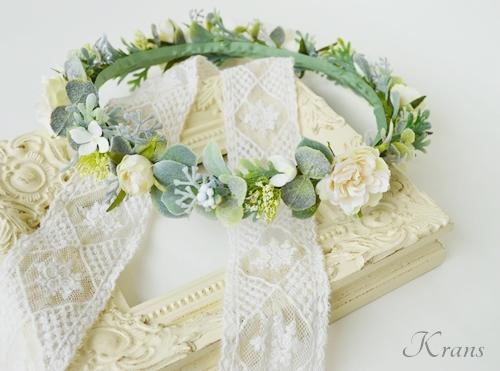 結婚式花冠大人可愛いナチュラル3