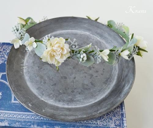 結婚式花冠華奢で可愛いナチュラル4