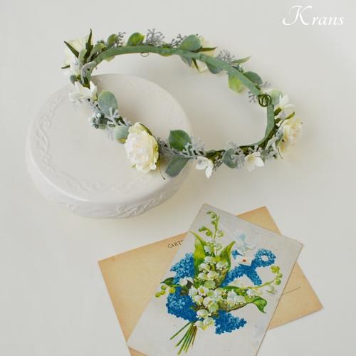 華奢で可愛いナチュラル花冠