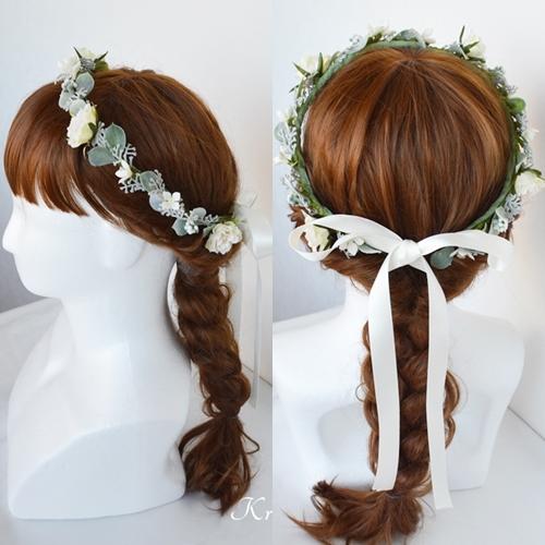 花冠ナチュラルヘアアレンジ4