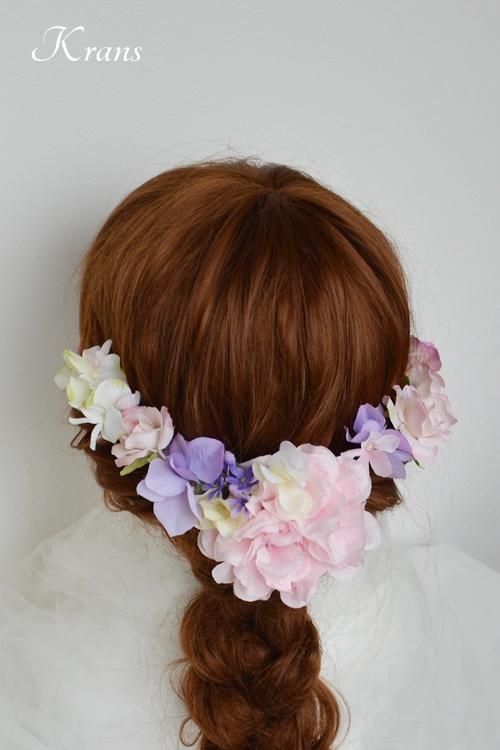七五三ヘッドドレス髪飾りヘアアレンジ3