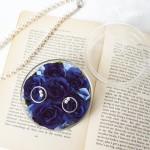 リングピロー青いバラ