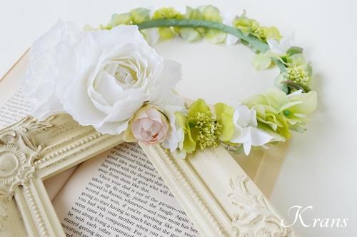 ナチュラルグリーン花冠結婚式3