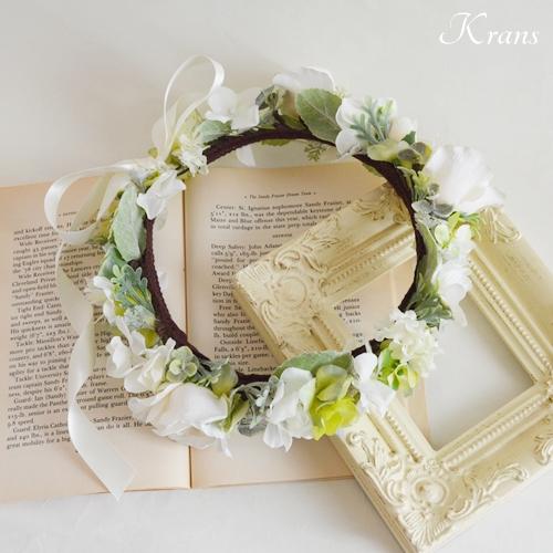 ホワイトローズ花冠結婚式