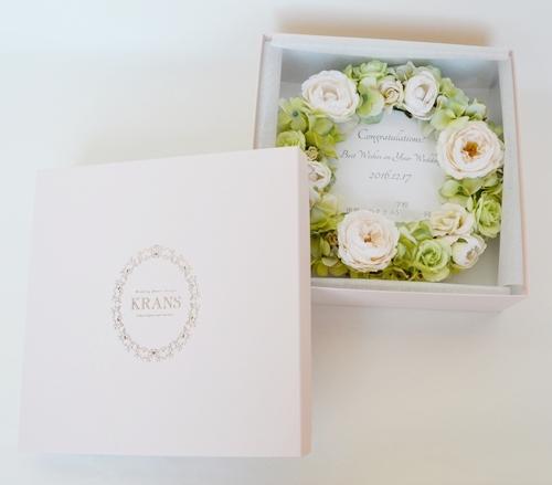 結婚祝いフラワーナチュラルリース、新築祝いプレゼント