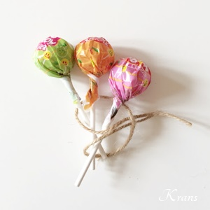 キャンディーブーケ解けない紐の結び方