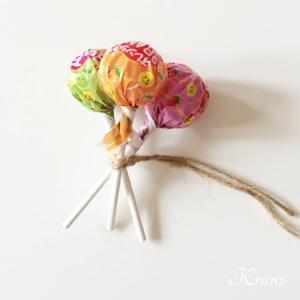 キャンディーブーケ紐の結び方