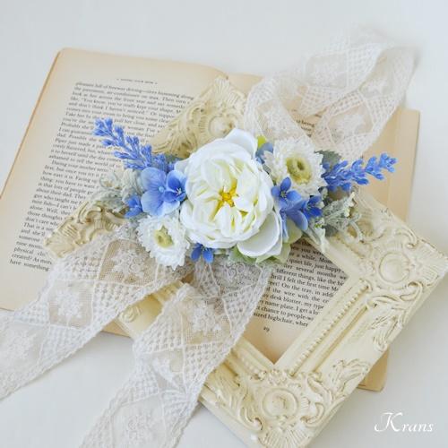 結婚式フラワーボンネラベンダー